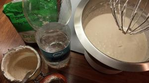 Sourdough sponge ingredients