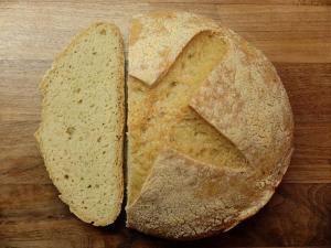 Simple gluten free sourdough bread