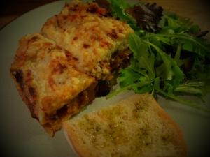 lasagne close up